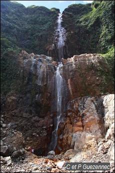 Première chute du Carbet en février 2010