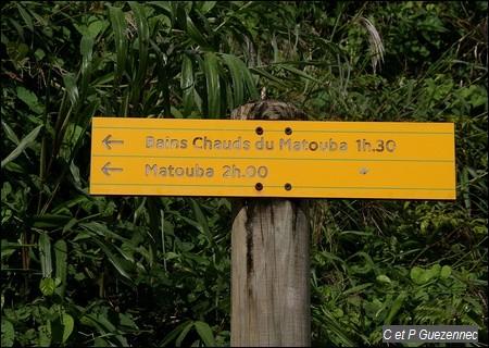 Bains Chauds du Matouba 1h30.
