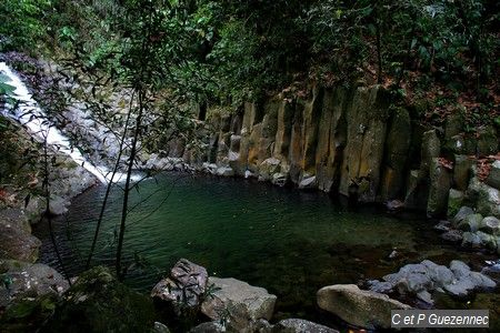 Cascade Paradis avec ses orgues basaltiques