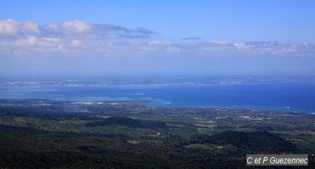littoral de la côte au vent avec le Petit Cul-de-Sac Marin