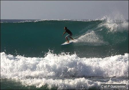 Spot de Surf de l'Anse Lavolvaine
