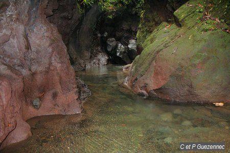 Le Galion après la petite cascade